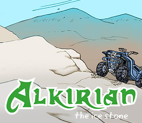 Alkirian - the ice stone