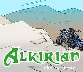 Alkirian – the ice stone