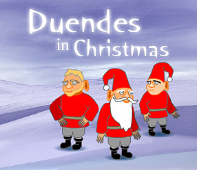 Duendes in Christmas