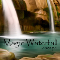 Magic Waterfall Escape