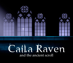 caila raven and the ancient scroll