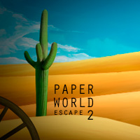 Paper World Escape 2