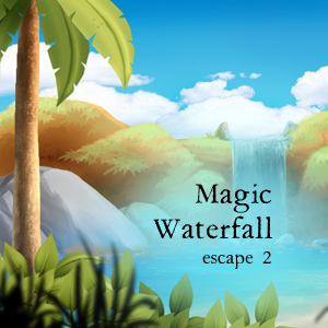 Magic Waterfall Escape 2